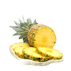 Ananas smoothie bevroren fruit pulp puree Juice Pads afbeelding