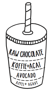 raw-cacao-koffie-acai-avocado-smoothie-recept-afbeelding