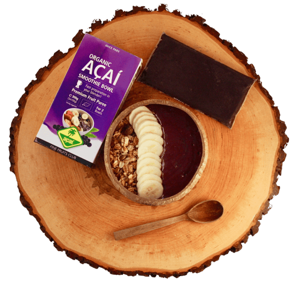 Acai smoothie bowl biologisch