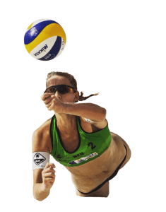 Acai beach volleybal Julia brouwers