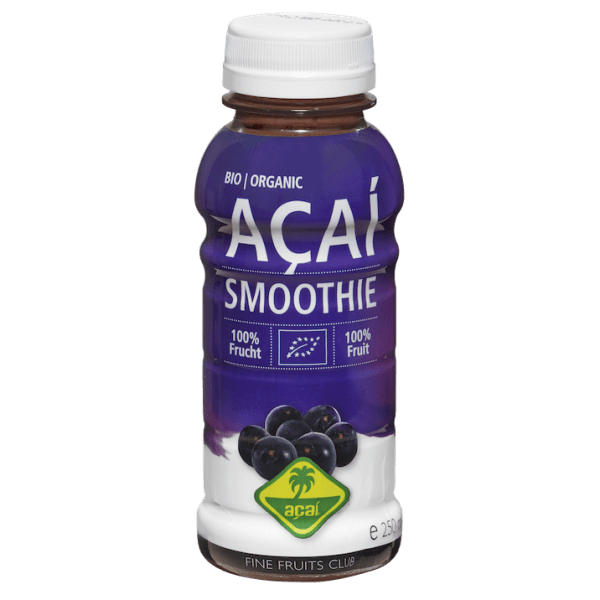 Acai smoothie to go biologisch