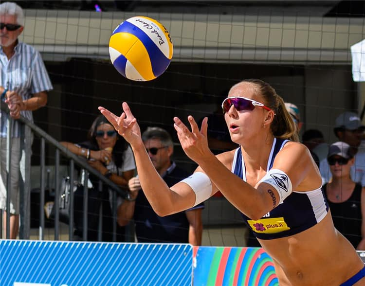 Beach Volley Acai Sport Athlete