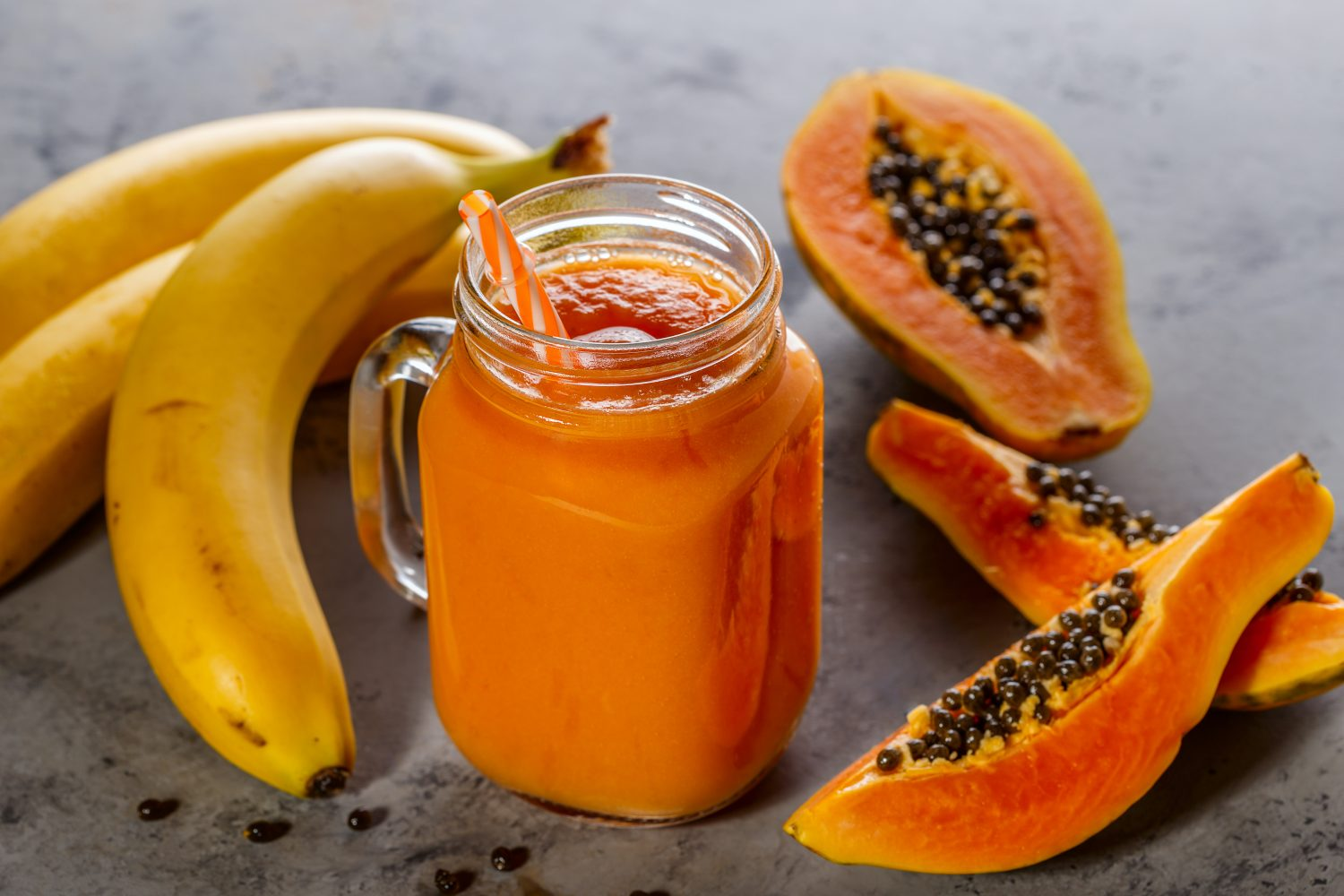 Papaya-banaan-tropicablend-smoothie